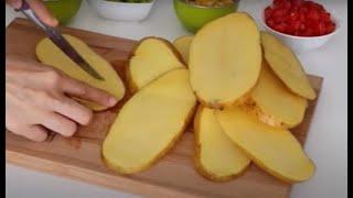 Для горячих бутербродов вместо хлеба использую картошку На праздничном столе сметаются первыми