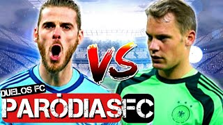 ♫ DE GEA vs NEUER | DUELOS FC# 18 | Paródia Sorry - Justin Bieber