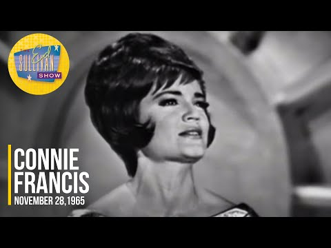 """Connie Francis """"Goldfinger"""" on The Ed Sullivan Show"""