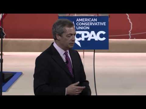 CPAC 2015 - Nigel Farage, Leader of the United Kingdom Independence