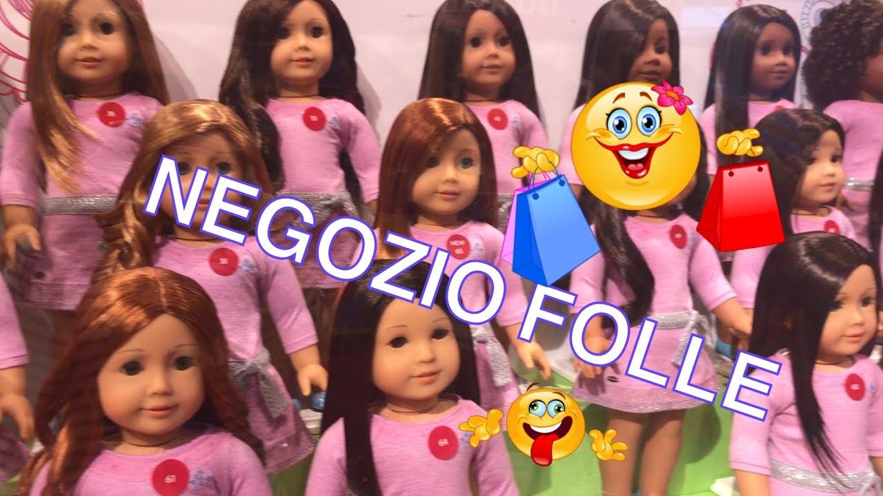 Il Paradiso delle BAMBOLE Mattel - American Girl Palace - YouTube