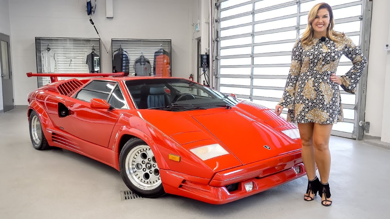 Lamborghini Countach Price >> An Overview of the Legendary 1989 Lamborghini Countach ...