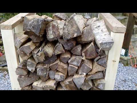 DIY Firewood Wood Rack