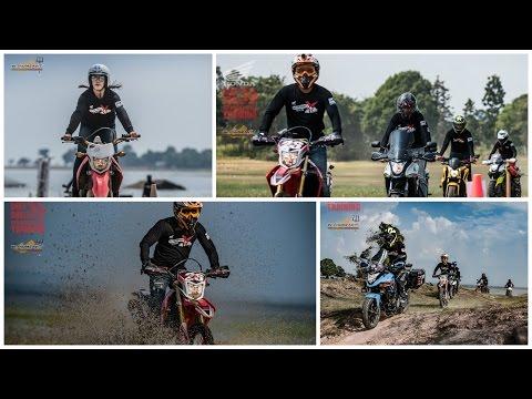 กิจกรรมสนุกๆ  DirtDrill Off Road Skills Training โดย Honda BigWing Ubon
