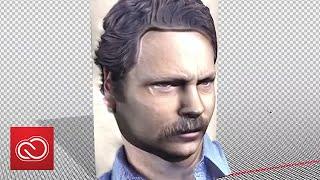 3D Portraits - Adobe MAX 2015 - Sneak Peeks | Adobe Creative Cloud