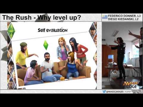 GP São Paulo Judge Conference - The Rush