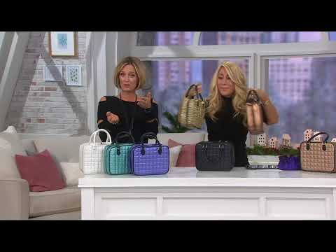 Gold & Silver Safekeeper Jewelry Case by Lori Greiner on QVC