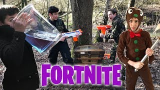 Fortnite In Real Life! - Behind The Scenes