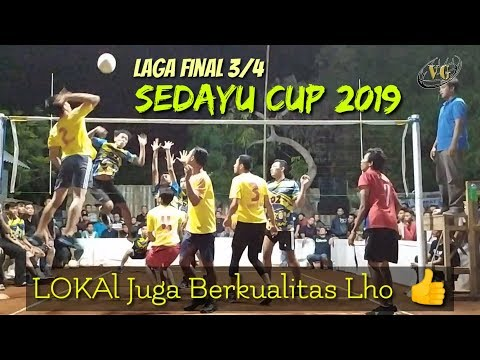 FINAL 3/4 SEDAYU CUP 2019 || SNIPER VS UD NIA AINI JAYA