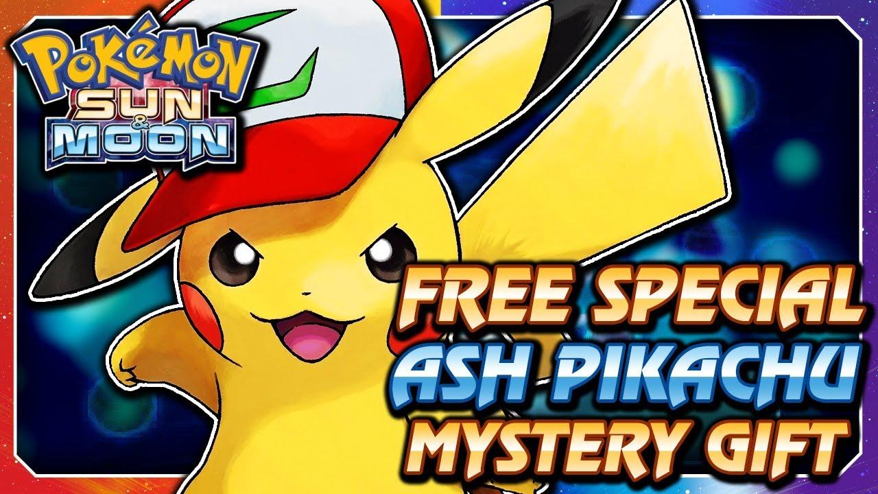 559d2089d592f Pokémon Sun   Moon - FREE Ash Hat Pikachu Serial Code Mystery Gift Event!  (ENGLISH   NORTH AMERICA)