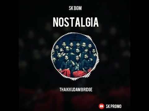 NOSTALGIA | Violin HD BGM | Visualizer Spectrum Video | Govind_Menon | Thaikkudam Bridge | SK Promo