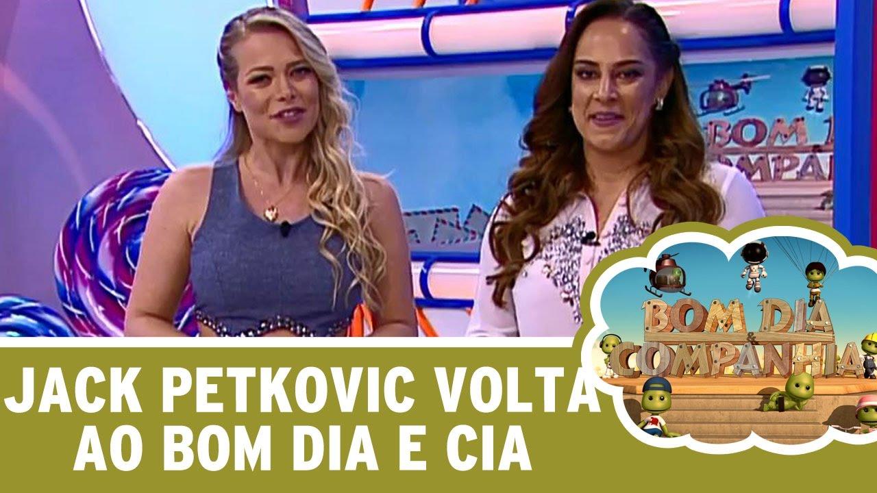 Bom Dia E Cia: Jackeline Petkovic Volta Ao Bom