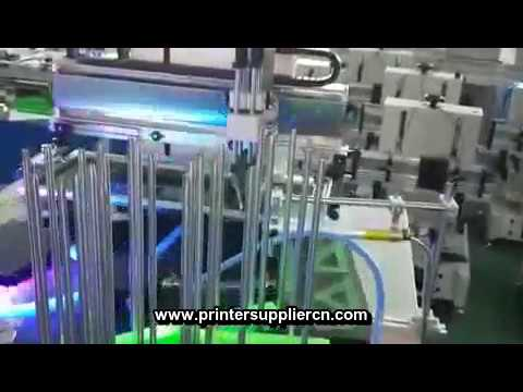 Automatic Screen Printing Machine For Ruler,Automatic Silk Screen Printing Equipment For Ruler