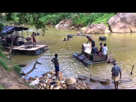 Gemstone Mining in Sri Lanka