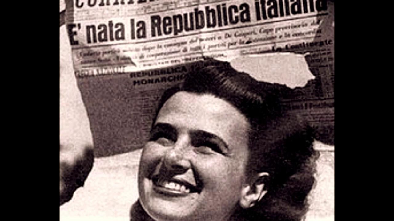 La festa della repubblica si festeggiano i 71anni della for Repubblica italiana nascita