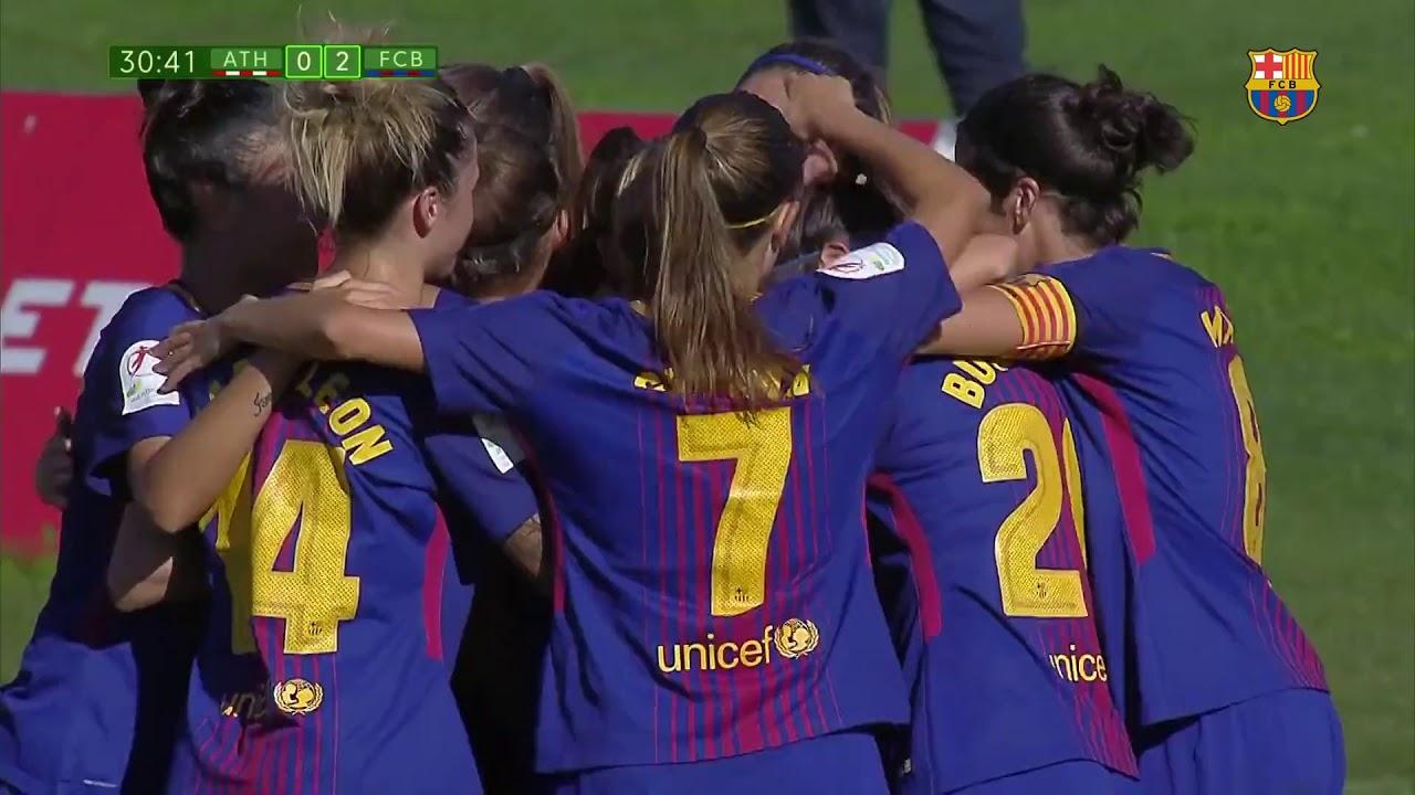 Athletic Club vs Barça Femenino 1-2[Liga Femenina ...