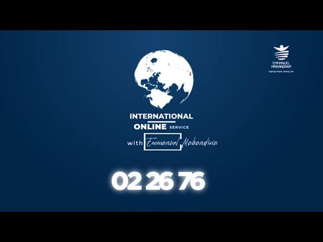 SUNDAY INTERNATONAL SERVICE WITH EMMANUEL MAKANDIWA | 25 OCTOBER 2020