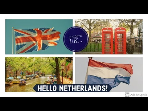 GOODBYE UK AND HELLO NETHERLANDS! / MOVING DAY STORY / TIPS FOR DIY MOVING!