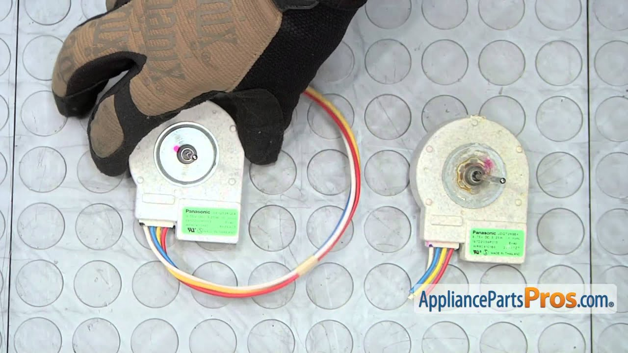 Refrigerator Evaporator    Fan       Motor     part  WR60X10185   How To Replace  YouTube