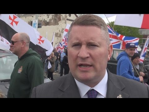 Britain First demonstration in Dudley