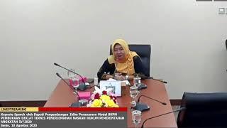 [LIVE] Pembukaan Diklat Teknis Penerjemahan Naskah Hukum Pemerintahan, Senin (10/8)