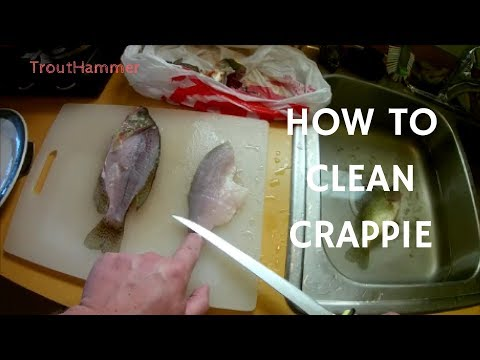 How To Clean Crappie