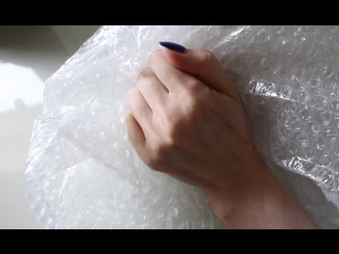 ASMR Plastic Crinkle | Bubble Wrap Popping Relaxation | 3Dio