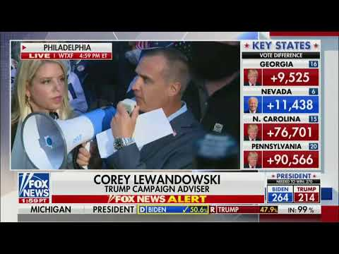Corey Lewandowski: The Pennsylvania Board of Elections thinks they are above the law