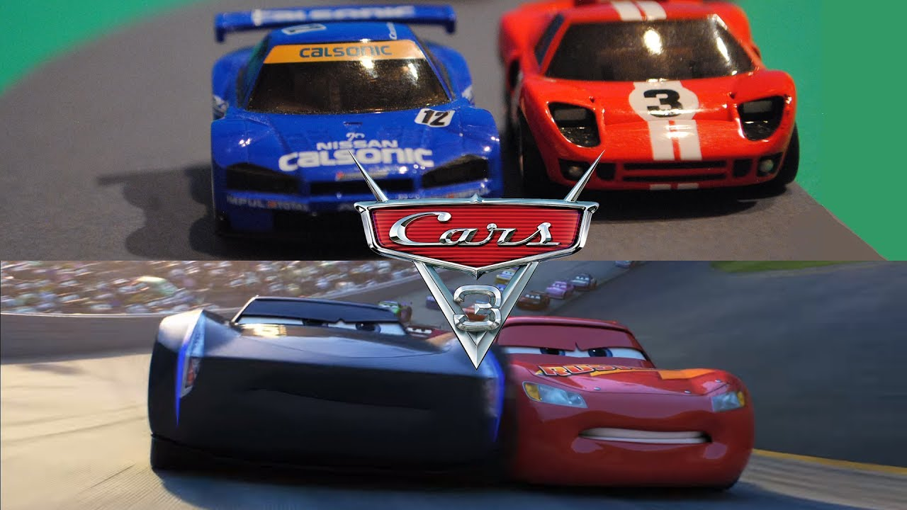 Cars 3 Rivalry Official Trailer Stopmotion Comparison