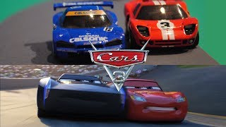 Cars 3 'Rivalry' Official Trailer - StopMotion Comparison