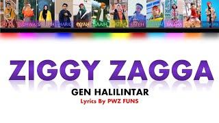 Genhalilintar - Ziggy Zagga | Color Coded Lyrics