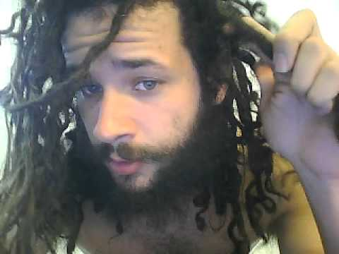 Separating Extremely Congod Dreadlocks Tutorial..Maybe
