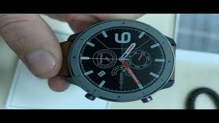 From Gearbest AMAZFIT GTR 42mm Smart Watch Global Version Unboxing / Видео