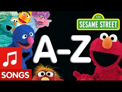 Sesame Street: A to Z Songs  Letter of the Day Compilation