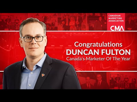 Duncan Fulton - Canada's Marketer Of The Year