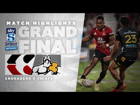 FINAL: Crusaders v Chiefs (Sky Super Rugby Aotearoa - 2021)