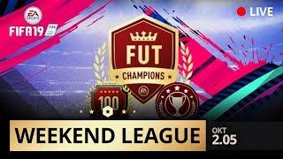 LIVE FIFA19 WEEKEND LEAGUE | KOEN WEIJLAND | OKT 2.05
