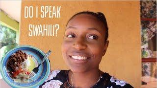Cooking Tanzanian food and speaking Kiswahili