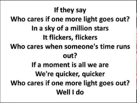 One More Light - Lyrics - Linkin Park