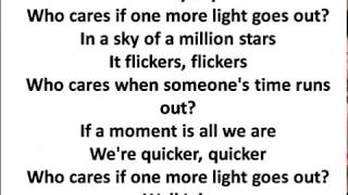 One More Light Lyrics Linkin Park