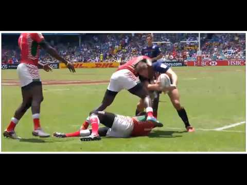 (HD) Sydney 7s | Kenya v Scotland | 13th Place Semi Final | Full Match Highlights | Rugby Sevens