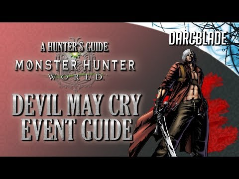 Devil May Cry Event Guide : Monster Hunter World