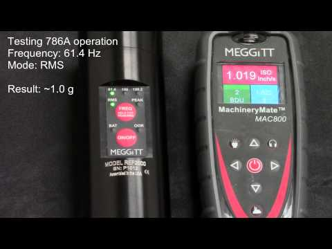 ReferenceMate: verifying sensor and cable operation