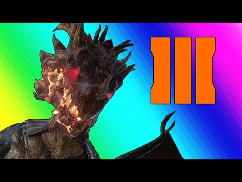 Black Ops 3 Zombies: Gorod Krovi – Dragons and Chickens (Funny Moments & Fails)