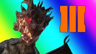 Black Ops 3 Zombies: Gorod Krovi - Dragons and Chickens (Funny Moments & Fails)