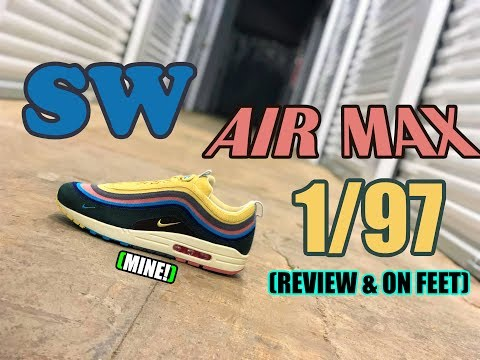 *REVIEW* Sean Wotherspoon Air Max 1/97 | Unboxing & On Feet | Best of 2018? | Top Quality!!