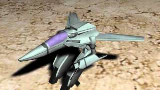 VF-1a Model - Fighter and Gerwalk