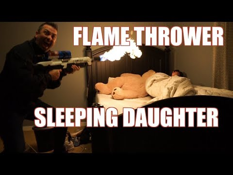 flame-thrower-prank-|-16-yr-old-screams-|-lambros-|-(wife-is-not-happy!!)