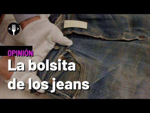 ¿Para qué sirve el pequeño bolsillo que tienen los pantalones de mezclilla?