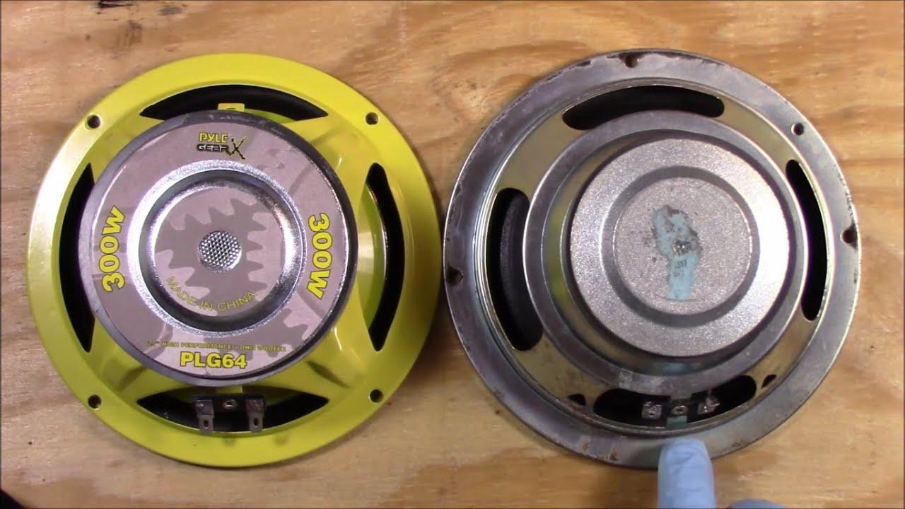 Blown Speaker Replacement Front Door Hyundai Santa Fe 2003 Pyle Plg64 6 5